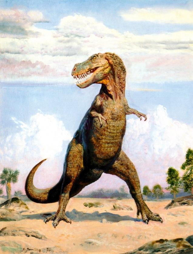 Tarbosaurus baatar by Burian / ZBurian.blogspot.com